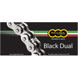 REGINA 520 X 120 ZRA BLACK DUAL CHAIN