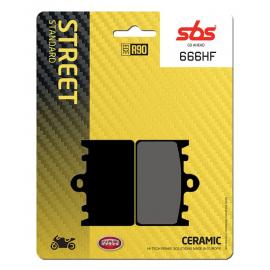 BRAKE SBS 666HF (FA180)