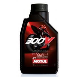 MOTUL 300V FACTORY LINE ROAD RACING 5W40 - 1L