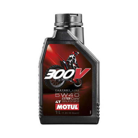 MOTUL 300V 5W40 FL OFF ROAD 1L