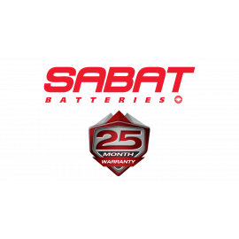 SABAT BATTERY 12N12A4A1 (WITH ACID PACK)